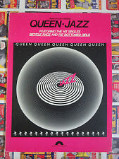 Queen- Jazz Music Score Sheet Music Piano Vocal Chords feat. Bicycle Race