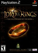 Lord of the Rings: The Fellowship of the Ring - Playstation 2 Game Complete