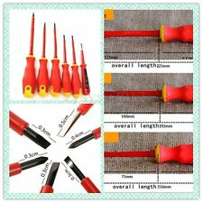 6pc electrical insulated screwdriver set Kit electrician Screwdrivers