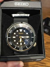 Seiko TUNA Solar Prospex SBDN028 200M Black/Gold Limited Edition 3000 USA SELLER