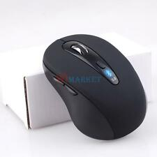 Mini Wireless Bluetooth Optical Mouse 1600 DPI Black for PC Android 3.1 Tablet