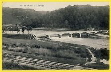 CPA France 54 - VILLEY le SEC (Meurthe et Moselle) Le BARRAGE Chemins de Fer
