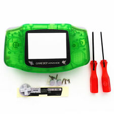 Silver Pikachu Transparent Green Housing Shell for Nintendo Game boy Advance