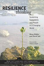 Resilience Thinking: Sustaining Ecosystems and People in a Changing World, Salt,