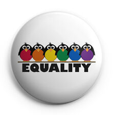 "LGBT - Gay Pride - Equality - 25mm (1"" Inch) Pin Button Badge"