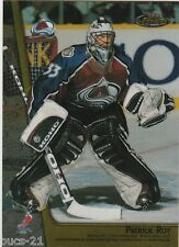 1998-99 Topps Finest Patrick Roy Colorado Joe Sakic  Avalanche #M28 Hockey Card