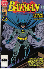 BATMAN 468...VF/VF+...1991...Shadowbox Pt.2...Chuck Dixon,Tom Lyle...Bargain!