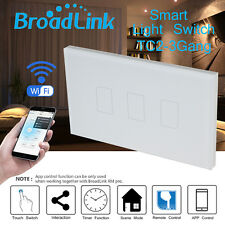 Broadlink TC2 3 Gang Wifi/ RF Light Controller Wall Panel Switch Home Automation