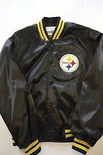 Vintage Pittsburgh Steelers Chalk Line Satin Jacket Size L