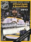 National Hockey League Official Guide & Record Book 2013 (NHL Official Guide & R