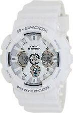 Casio Men's G-Shock GA120A-7A White Resin Quartz Fashion Watch