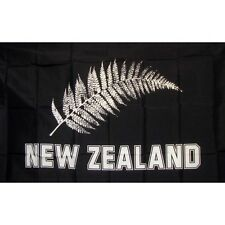 New Zealand Football Country Flag Banner Sign 3' x 5' Foot Polyester Grommets