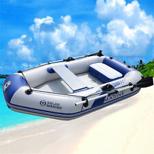 6.6 ft Inflatable Boat Raft Fishing Dinghy Tender Pontoon Boat River Lake Dinghy