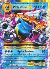 M Blastoise EX 22/108 Evolutions Pokemon Card