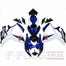 ABS painted Fairing Kit Bodywork for Suzuki GSXR600/750 2006-07 Blue white Black