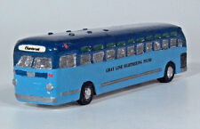 Roberts Miniature Transports Grey Line GM 4007 City Transit Tour Bus 1:87 Model