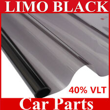 "20""x20FT Light Smoke Black Window Tint Film VLT 40% Auto Car House Roll 50cm*6M"