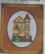 Counted CrossStitch San Francisco California Victorian Home Kit Steiner Street