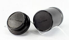 2 Leica Bakelite Lens Containers (bottoms only) for 3.5cm Summaron and 9cm Elmar