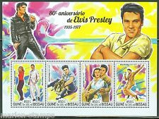 GUINEA BISSAU  2015 80th BIRTH ANNIVERSARY OF ELVIS PRESLEY SHEET  MINT NH