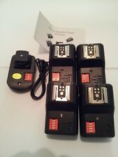 PT-16 GY 16 Channels Wireless/Radio Flash Trigger SET with 4 Receivers