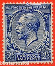 SG. 373 variety N21 (15) 2½d Indigo Blue ( toned paper ) A superb UNMOUNTED MINT