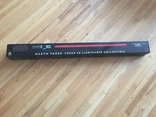 STAR WARS LIGHTSABER DARTH VADER FORCE FX MASTER REPLICAS NEW IN BOX