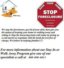 Stop Foreclosure and Stay In your Home!