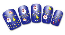 Nailart stickers autocollants ongles scrapbooking décorations de Noël sapins