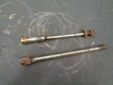 Puch 125 MX Front & Rear Axles