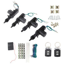 Car Universal Remote Control Central Door Locking Kit Keyless Entry System