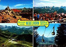 Gruss vom Nebelhorn / Allgäu , Ansichtskarte , gelaufen