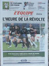 L'Equipe du 16/9/2007 - L'OL - L'OM - Judo : chpt du monde - Colin Mc Rae -