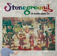 STONEGROUND – LIVE IN HAIGHT ASHBURY 1971 (NEW/SEALED) CD KSAN-FM Radio