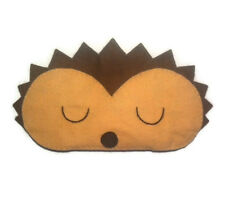 Hedgehog sleep mask Gift Adult Kids Woodland Animal Cute Eye Mask Handmade