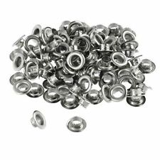 "ProTool 100pc 1/4"" Grommets Eyelets for Clothes Leather Canvas - Self-Backing"