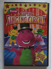 BARNEY'S SUPER SINGING CIRCUS Sealed New DVD Barney