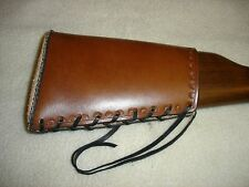 SASS Leather Henry 22 Rifle Buttstock Cover Straight rear stock gun stock