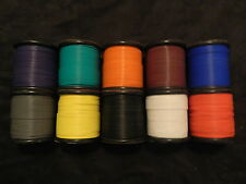 18 GAUGE WIRE 10 COLORS 50 FT EA PRIMARY AWG STRANDED COPPER POWER REMOTE CABLE