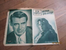 REVUE FILM COMPLET 337 1952 mara fille sauvage silvana mangano cary grant