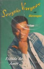 Sergio Vargas En Merengue Fraude De Amor Cassette New Nuevo Sealed