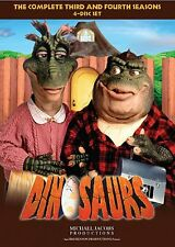 Dinosaurs Complete Series Third Fourth Season 3 4 Three Four DVD SET TV Show Lot