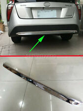 Rear Lower Fender Protector Molding Cover Trim for 2016-2017 Toyota Prius Chrome