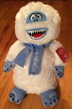 """New Bumble Abominable Snowman 17"""" Stuffed Plush Greeter Stand Rudolph Red Nosed"""