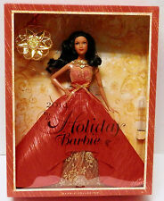 2014 Barbie Collector Holiday Doll African-American with Ornament