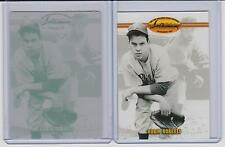 ROBIN ROBERTS 1/1 Printing Press Plate 1993 Ted WILLIAMS Card Co PHILLIES 1 of 1