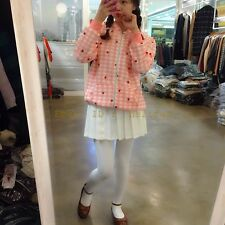 Spring Girl's Kawaii Strawberry Thin Jacket Outwear Long Sleeve HOODED Hat Coat