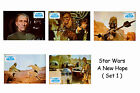 STAR WARS - SET OF 5 A4 SIZED REPRINT LOBBY POSTERS # 1