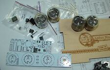 Nixie tube clock kit 2.0 with IN-4 Tubes in wood box