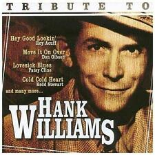 TRIBUTE TO HANK WILLIAMS (Roy Acuff, Don Gibson, Patsy Cline, etc.) CD